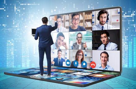 N'annulez pas votre événement, découvrez le monde virtuel ! Conférence virtuelle à BluePoint Venues !  - Foto 1