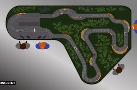 Ontwikkeling Slotracebaan Spa-Francorchamps - Foto 1