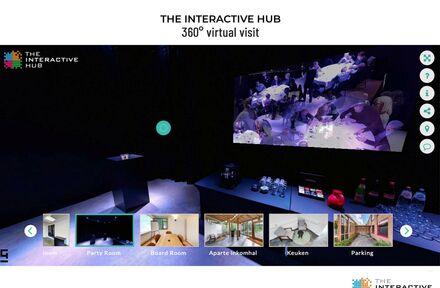 Bezoek 'The Interactive Hub' virtueel in 360°  - Foto 1