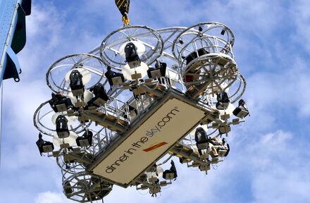 Nodig jouw relaties uit voor Dinner In The Sky 2.0! 100% #coronaproof - Foto 1