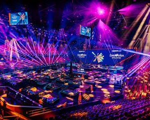 ¿Cómo se ve el protocolo corona durante el Festival de la Canción de Eurovisión?