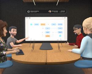 La nueva apuesta de Facebook por la realidad virtual: salas de conferencias