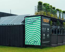 Invisible: el festival funciona íntegramente con energía verde